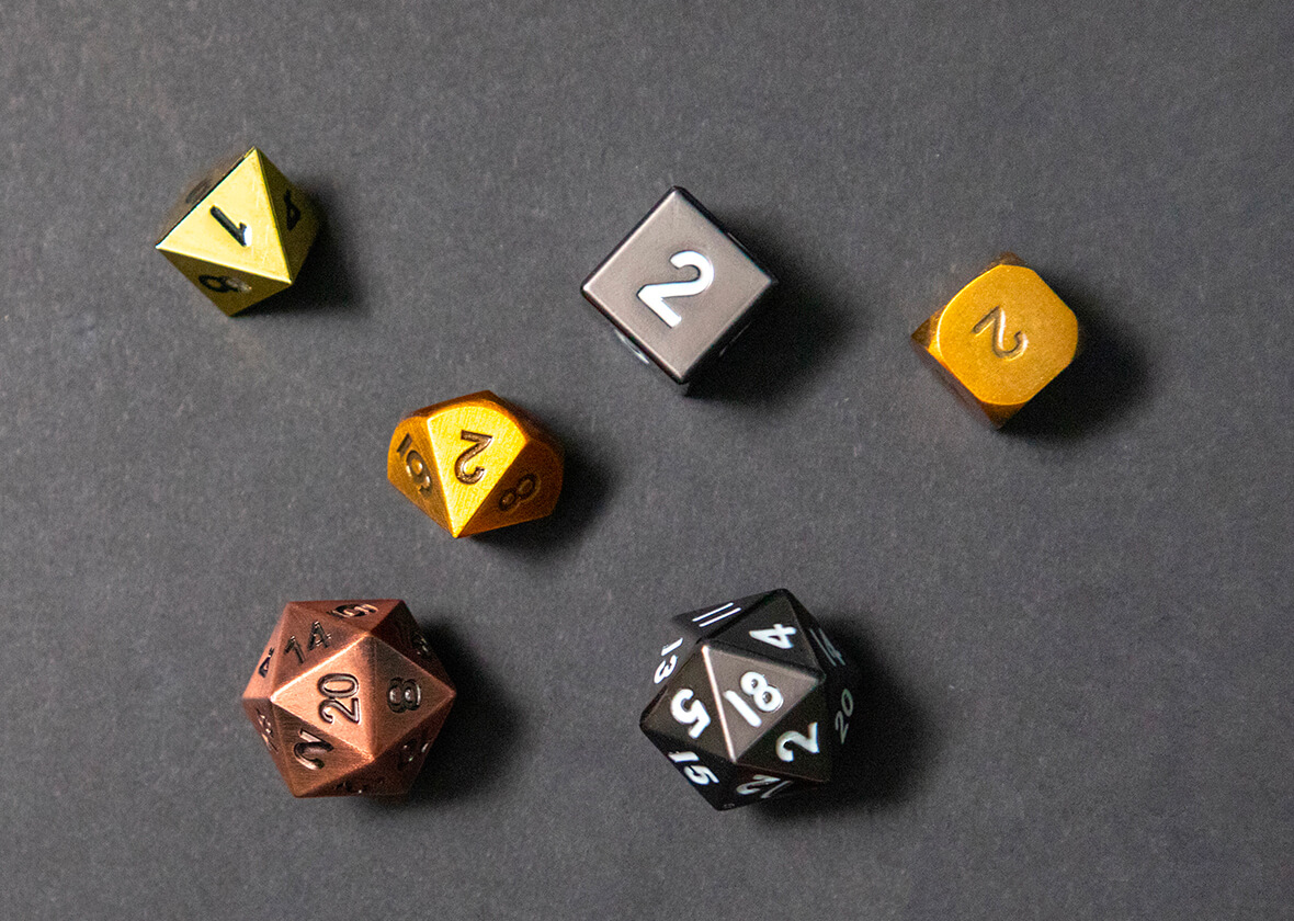 The Solution of Making Metal Dice 3